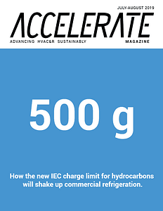 Accelerate HVAC&R Sustainability article with Viking Cold thermal energy storage