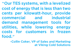 TES system quote Collin Coker